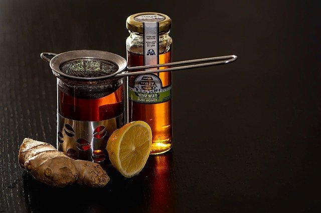 Thé au citron et gingembre