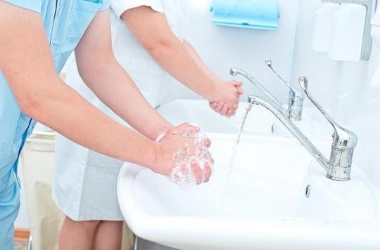 L'hôpital se mobilise pour sensibiliser au lavage des mains